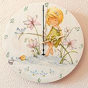 Часы ручной работы. Ярмарка Мастеров - ручная работа Маленькая фея (River Fairy). Handmade.