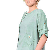 Одежда handmade. Livemaster - original item Shirt womens cotton. Handmade.