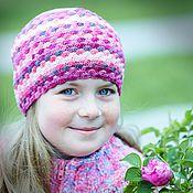 Работы для детей, ручной работы. Ярмарка Мастеров - ручная работа весенняя шапочка для девочки. Handmade.