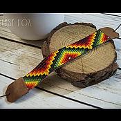 Украшения handmade. Livemaster - original item Bright beaded bracelet. Handmade.