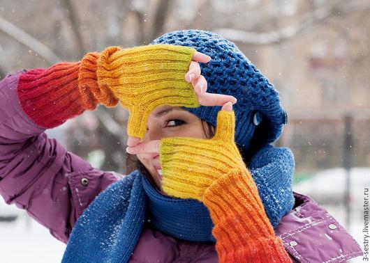 Митенки, варежки, перчатки, варежки перчатки, митенки вязаные, вязаные митенки,красные митенки, митенки красные, перчатки вязаные, женские перчатки, перчатки женские, варежки вязаные, зима, руки