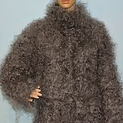 Одежда handmade. Livemaster - original item Down coat knitted from selected ring goat down. Handmade.