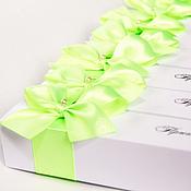 """Свадебный салон ручной работы. Ярмарка Мастеров - ручная работа Приглашение свиток """"Lime"""". Handmade."""