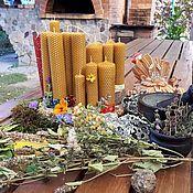 Фен-шуй и эзотерика handmade. Livemaster - original item Handmade candles with herbs,cleansing of negativity diagnostics!. Handmade.