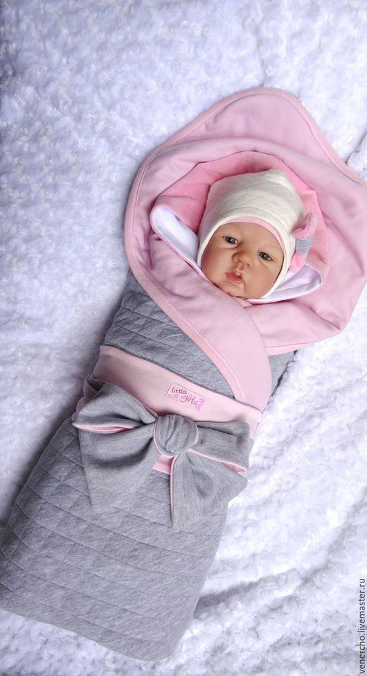 Для новорожденных, ручной работы. Ярмарка Мастеров - ручная работа. Купить Комплект на выписку ''Маленькая леди'' 8пр.. Handmade.