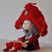 """Куклы и игрушки ручной работы. Ярмарка Мастеров - ручная работа Авторская кукла  Мечталка """"Капитанская"""" продана. Handmade."""