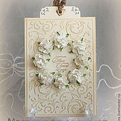Свадебный салон handmade. Livemaster - original item Wedding card