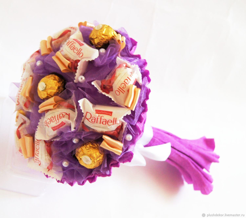 "Букет из конфет ""Фиалка"", Букеты, Москва, Фото №1"