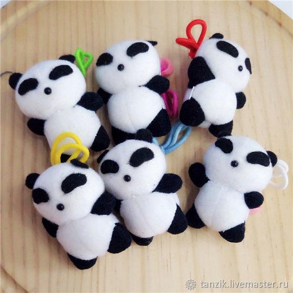 Материалы: Игрушка для куклы панда, Материалы для кукол и игрушек, Краснодар, Фото №1