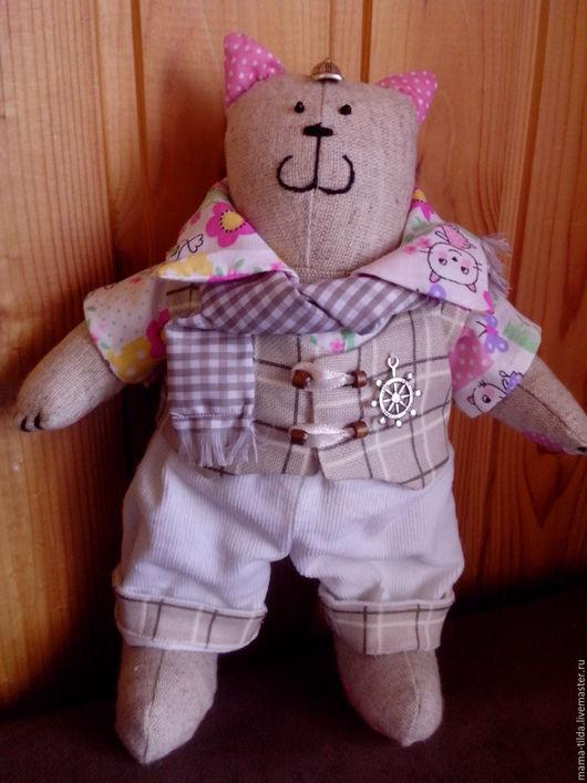 Игрушки животные, ручной работы. Ярмарка Мастеров - ручная работа. Купить Интерьерная кукла в стиле тильда - мартовский кот. Handmade.