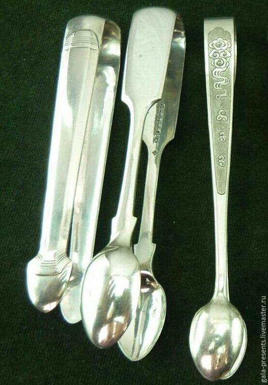 Винтажная посуда. Ярмарка Мастеров - ручная работа. Купить Шикарные щипцы для сахара Англия сер 20 в столовые приборы. Handmade.