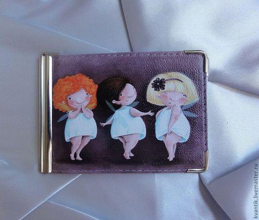 Зажим для денег с феечками от Elina Ellis  Магазин волшебных феечек. FairyKalinka http://www.livemaster.ru/kvantik