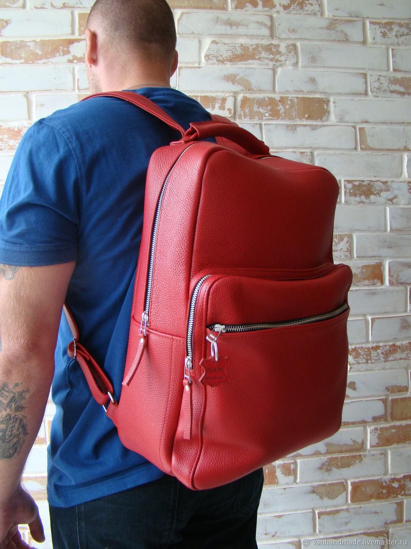 Рюкзаки ручной работы. Ярмарка Мастеров - ручная работа. Купить Рюкзаки: Стильный и качественный кожаный рюкзак/ индивидуальный пошив. Handmade.