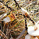 Миниатюра ручной работы. Ээзи границы снега. Виктория Быстрикова (santash). Ярмарка Мастеров. Подвеска, существо, войлок, горный хрусталь