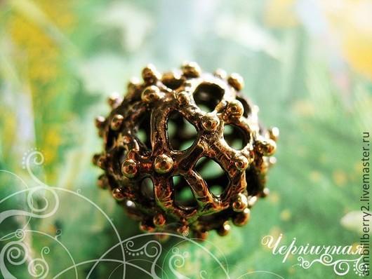 Для украшений ручной работы. Ярмарка Мастеров - ручная работа. Купить Зима л1215-400 (1). Handmade. Латунь