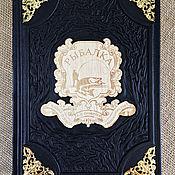 Сувениры и подарки handmade. Livemaster - original item Fishing Sabaneev leather bound. Handmade.