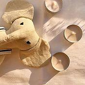 Тильда Зверята ручной работы. Ярмарка Мастеров - ручная работа Игрушка слоник. Handmade.