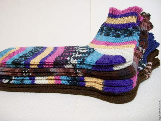 Носки, Чулки ручной работы. Ярмарка Мастеров - ручная работа. Купить Короткие шерстяные носочки. Handmade. Короткие носки
