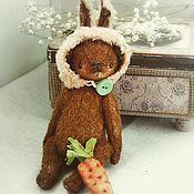 Куклы и игрушки ручной работы. Ярмарка Мастеров - ручная работа Мишка Зайчик. Handmade.