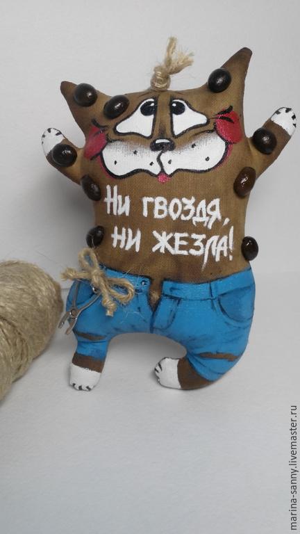 Ароматизированные куклы ручной работы. Ярмарка Мастеров - ручная работа. Купить Ни гвоздя, ни жезла!. Handmade. Разноцветный, Ароматизатор