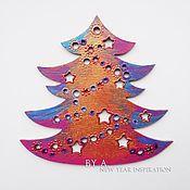 Подарки к праздникам ручной работы. Ярмарка Мастеров - ручная работа Елка новогодняя игрушка елочное украшение. Handmade.