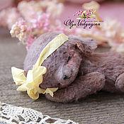 Куклы и игрушки ручной работы. Ярмарка Мастеров - ручная работа спящая мышка. Handmade.
