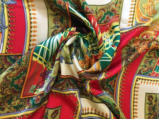 Шитье ручной работы. Ярмарка Мастеров - ручная работа. Купить Итальянский натуральный шелк. Handmade. Комбинированный, непрозрачный шелк