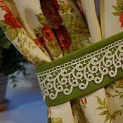 """Для дома и интерьера ручной работы. Ярмарка Мастеров - ручная работа Шторы """"Emilien garden"""". Handmade."""