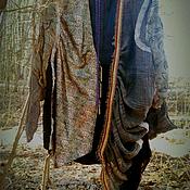 Одежда ручной работы. Ярмарка Мастеров - ручная работа бохо-кофта МЕДНЫЕ РУЧЬИ. Handmade.