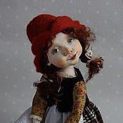 """Куклы и игрушки ручной работы. Ярмарка Мастеров - ручная работа """"Красная шапочка"""" куколка будуарная. Handmade."""