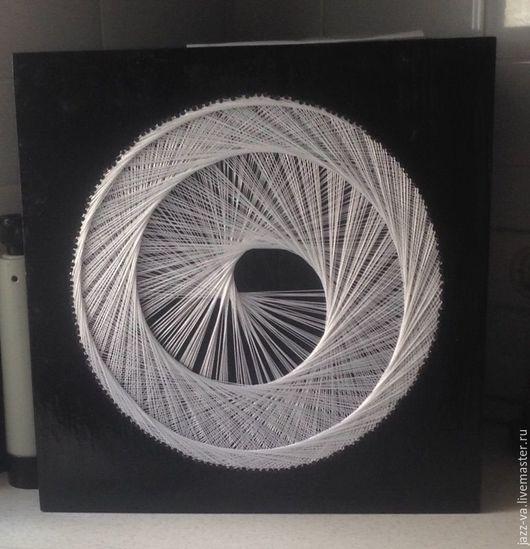 Медитация ручной работы. Ярмарка Мастеров - ручная работа. Купить Спираль. Handmade. Стринг арт, спираль, сакральная геометрия