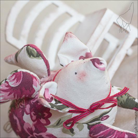 Куклы Тильды ручной работы. Ярмарка Мастеров - ручная работа. Купить Тильда-Свинег. Handmade. Розовый, куклы тильды