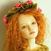 Куклы и игрушки ручной работы. Ярмарка Мастеров - ручная работа Шарнирная кукла Нимфа. Handmade.