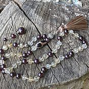 Фен-шуй и эзотерика handmade. Livemaster - original item Rosary necklace-personal talisman, women`s clear. Handmade.