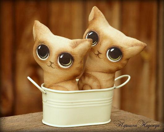Ароматизированные куклы ручной работы. Ярмарка Мастеров - ручная работа. Купить Кошки-крошки. Винтажные малышки. Кофейные Интерьерные игрушки. Handmade.