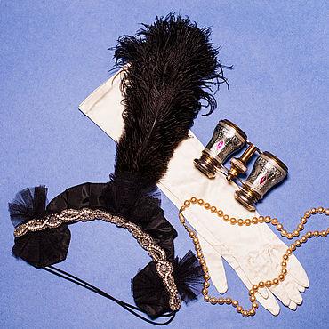 """Винтаж ручной работы. Ярмарка Мастеров - ручная работа Эгрет """"Великий Гэтсби"""",1920-е г.г., Франция. Handmade."""