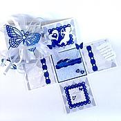 """Открытки ручной работы. Ярмарка Мастеров - ручная работа Коробочка """"MagicBox"""" для денежного подарка. Handmade."""