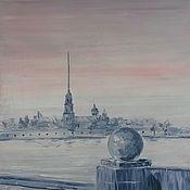 Картины и панно ручной работы. Ярмарка Мастеров - ручная работа Розовый Питер. Handmade.