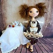 Куклы и игрушки ручной работы. Ярмарка Мастеров - ручная работа Феечка домашнего уюта и горячего кофе. Handmade.