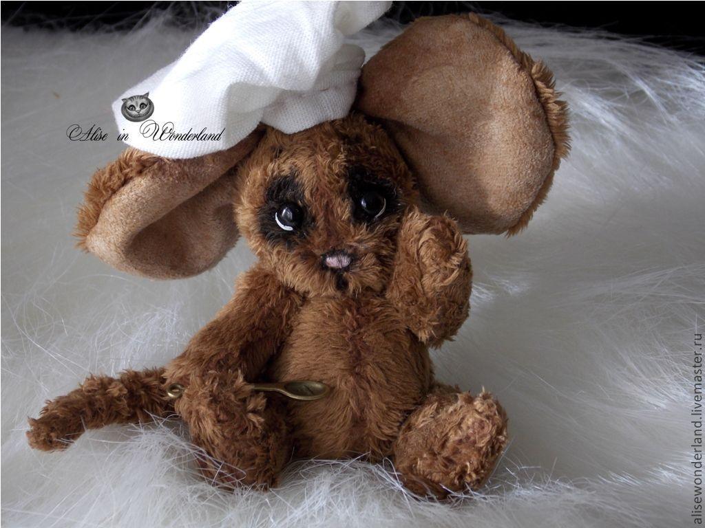 Мышонок - Поварёнок Тимошка, Мягкие игрушки, Самара,  Фото №1