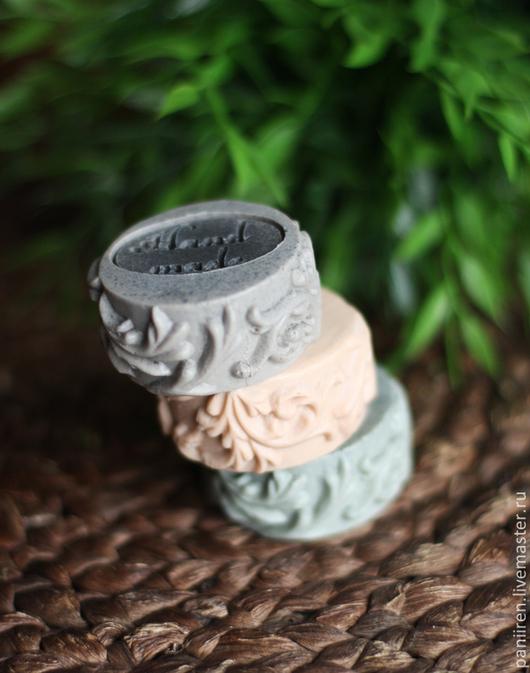 Мыло ручной работы. Ярмарка Мастеров - ручная работа. Купить Набор мыла с глиной. Handmade. Бежевый, мыло ручной работы