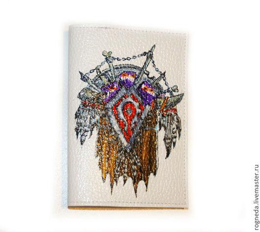Обложки ручной работы. Ярмарка Мастеров - ручная работа. Купить Герб Орды World Of Warcraft - обложка для паспорта. Handmade.