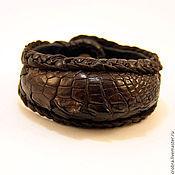 Украшения ручной работы. Ярмарка Мастеров - ручная работа Выдающийся браслет из кожи. Handmade.