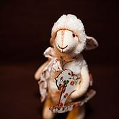 Куклы и игрушки ручной работы. Ярмарка Мастеров - ручная работа овечка Karolina. Handmade.