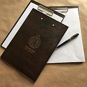 Канцелярские товары handmade. Livemaster - original item Wooden tablet. Handmade.