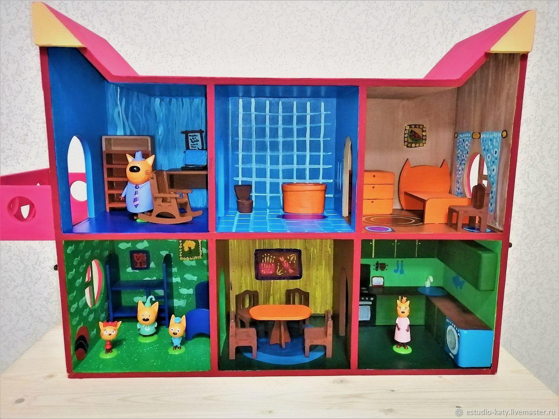 Кукольный домик для трёх котов, Кукольные домики, Приморск,  Фото №1