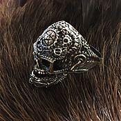 Украшения handmade. Livemaster - original item ring skull No. 2. Handmade.
