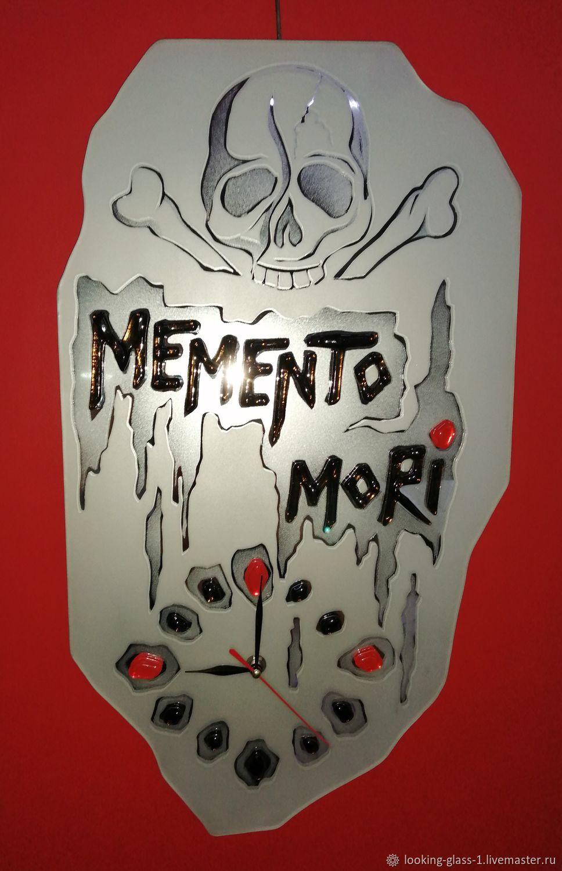 """Часы: """"Memento mori"""", Часы классические, Кемерово,  Фото №1"""