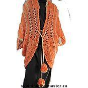 Одежда ручной работы. Ярмарка Мастеров - ручная работа кардиган Осенний цветок. Handmade.