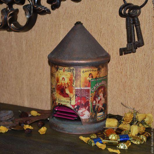 Кухня ручной работы. Ярмарка Мастеров - ручная работа. Купить Чайный домик. Handmade. Разноцветный, чай, кухня ручной работы